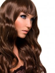 #6 Mediumbrun, 50 cm, Double drawn Tape Extensions
